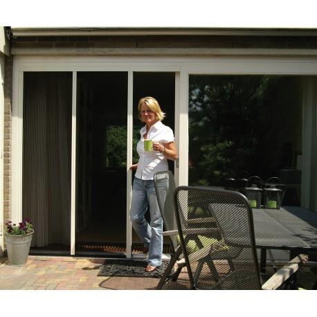 Plissé XL Dobbelt-Dør